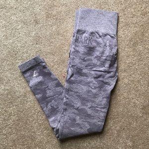 Gymshark lavender camo leggings